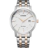 CITIZEN 星辰 光動能簡約手錶-40mm BM7466-81H