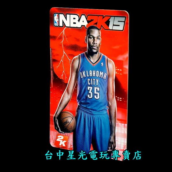 【特典收藏卡】☆ NBA 2K15 凱文杜蘭特 Kevin Durant 球員卡 ☆【空卡不含遊戲軟體】台中星光電玩