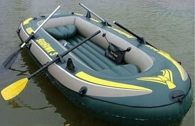 INTEX-68349 海鷹3號三人充氣船橡皮艇/皮劃艇【原裝配件】 四人標配款  特價清倉【藍星居家】