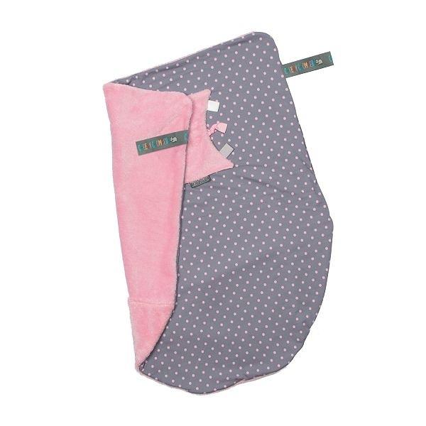 Cheeky Chompers Cheeky Blanket 袋鼠搓搓被/防風毯/冷氣毯 波卡粉點/送禮(附提袋)
