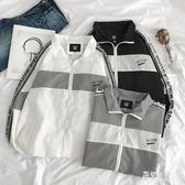 薄款男士外套 夏季夾克寬鬆潮流青年學生棒球服男裝上衣工裝外套 BT11199【彩虹之家】