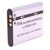 Kamera Pentax D-LI92 (DB-LI-50B/D-LI92)高品質鋰電池Optio X70,Optio I-10保固1年 LI50B 可加購 充電器