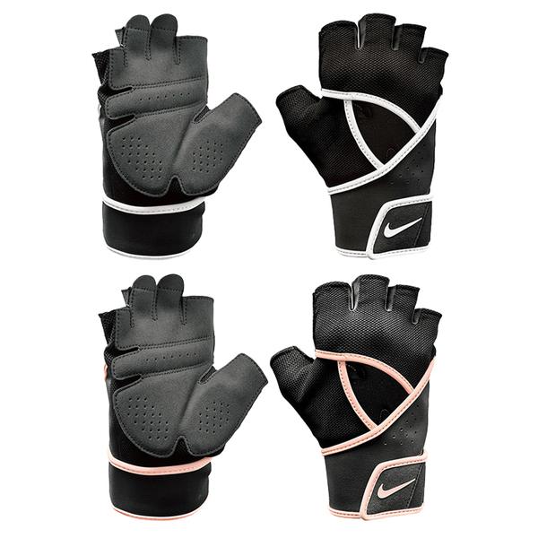 NIKE 女子高階健身手套 半指手套 訓練手套 健身房重訓手套 NLGC6【樂買網】