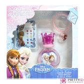 Disney Frozen 冰雪奇緣淡香水禮盒(淡香水30ml+飾品2件組)-公司貨【美麗購】