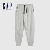 Gap男裝 簡約風格純色寬鬆式針織褲 608027-淺灰色