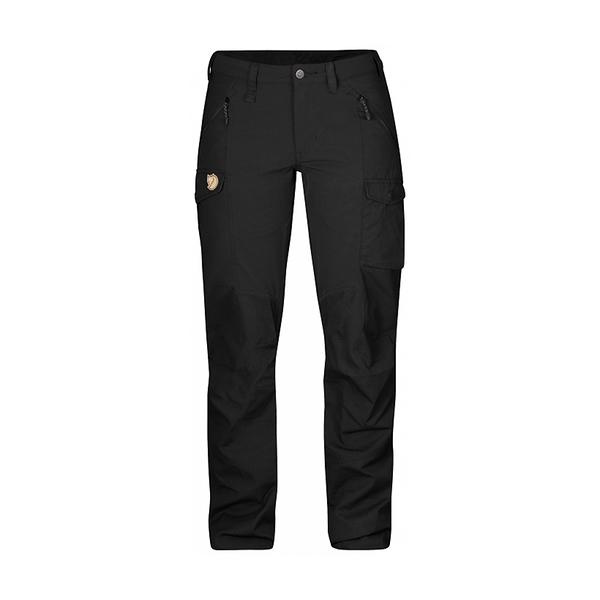 Fjallraven Nikka Trousers W G1000 彈性長褲 女 黑