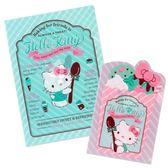 〔小禮堂〕Hello Kitty 日製L 型文件夾組《2 入粉綠》資料夾L 夾薄荷巧克力系列4901610 44452