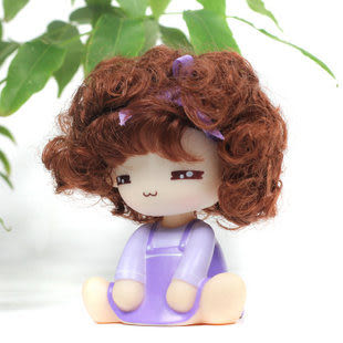 可愛環保 摩絲娃娃