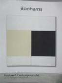 【書寶二手書T1/收藏_YDI】Bonhams_Modern&Contemporary Art_2019/12/17