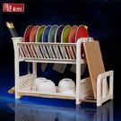 瀝水架廚房瀝水碗架碗筷餐具收納放碗碟架滴...