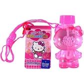 小禮堂 Hello Kitty 造型吹泡泡玩具 泡泡水 沙灘玩具 戶外玩具 (粉 站姿) 4971413-01453