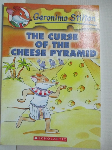 【書寶二手書T5/原文小說_GNV】The curse of the cheese pyramid_Stilton, Geronimo