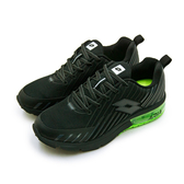 LIKA夢 LOTTO 專業緩震氣墊慢跑鞋 疾風KPU 系列 黑綠 7080 男