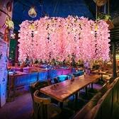吊燈 植物繁花酒吧音樂餐廳火鍋店燒烤吧吧台裝飾 現貨快出YJT