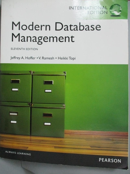 【書寶二手書T5/大學資訊_JGD】Modern database management_Jeffrey A. Hoff