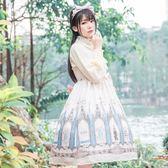 lolita洛麗塔洋裝少女日常公主裙子軟妹吊帶jsk連衣裙【不二雜貨】