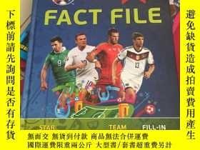 二手書博民逛書店UEFA罕見EURO 2016 FRANCE FACT FILE