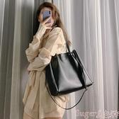 托特包側背包女大包包2020新款潮韓版百搭手提包學生托特包大容量斜背包 交換禮物