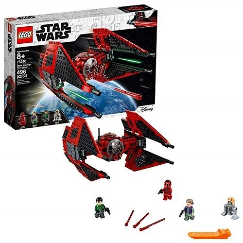LEGO 樂高 Star Wars Resistance Major Vonreg s TIE Fighter 75240 Building Kit (496 Piece)
