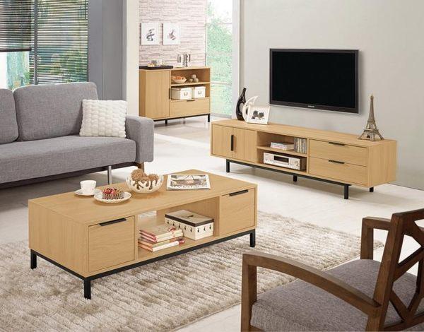 8號店鋪 森寶藝品傢俱 a-01 品味生活    電視櫃系列 841-2 達拉斯6尺二門二抽長櫃