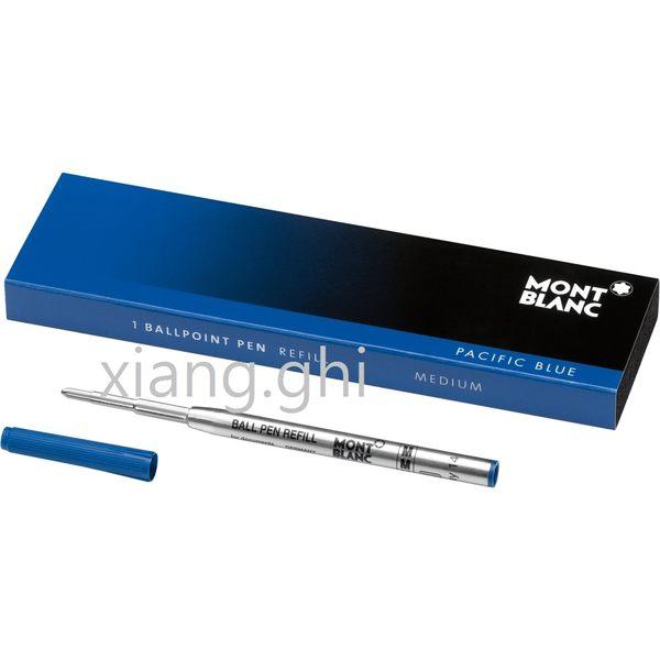 萬寶龍MONTBLANC原子筆芯-105151-(M)藍色-粗-*2支~另有(F)黑色-(M)黑色-(F)藍色~特價~保證正原廠真品!!