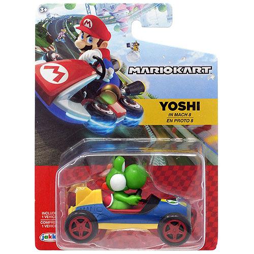 《 任天堂 》超級瑪利歐 瑪利歐賽車 W5 - 耀西 / JOYBUS玩具百貨
