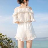 泳衣女仙女范比基尼三件套性感遮肚顯瘦韓國ins網紅日系新款 安妮塔小鋪