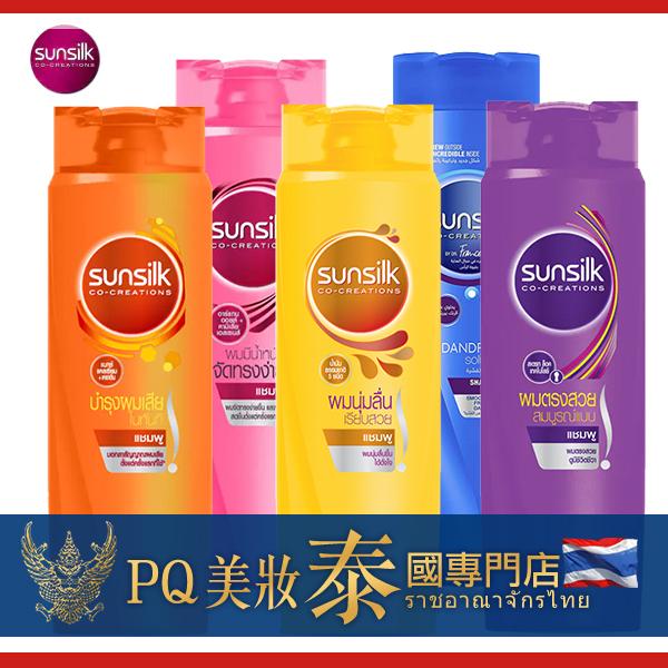 Sunsilk 晴絲 洗髮乳/護髮乳 320ml 款式可選 強健髮根 烏黑 抗屑 洗髮精【PQ 美妝】