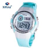 兒童手錶 女孩男孩防水夜光手錶小學生運動電子錶女童時尚韓版手錶 快速出貨
