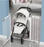 兒童安全門欄寶寶免打孔樓梯口防護欄寵物狗狗室內圍欄客廳家用 快速出貨
