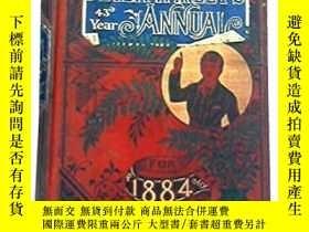 二手書博民逛書店古籍,Peter罕見Parley s Annual for 1884 43rd year, 約1884年出版,精裝