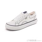 百搭小白鞋女鞋年新款流行鞋子女韓版ulzzang低筒帆布鞋板鞋 檸檬衣舍