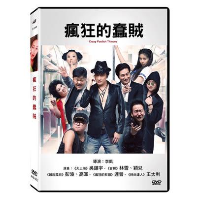 瘋狂的蠢賊DVD 吳鎮宇/林雪