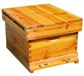 浸蠟蜂箱平箱中蜂箱標準十框煮蠟杉木蜂箱標準成品巢框蜜 HH1905【潘小丫女鞋】