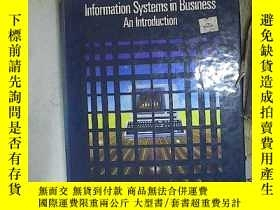 二手書博民逛書店Information罕見Systems in Business