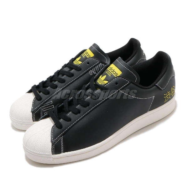 adidas 休閒鞋 Superstar Pure 黑 白 男鞋 皮革鞋面 涉谷 城市限定 運動鞋【ACS】 FV2833