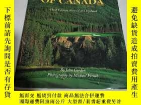 二手書博民逛書店GREAT罕見GOLF COURSES OF CANADA(英文