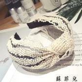 韓國高檔蕾絲精品發箍鏤空布藝