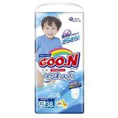 【GOO.N 日本大王】日本境內版(男)-大王褲型XL-38*3串/箱-箱購