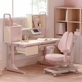 黑白調學習時光兒童學習桌小學生書桌實木課桌家用寫字桌椅套裝 NMS 幸福第一站