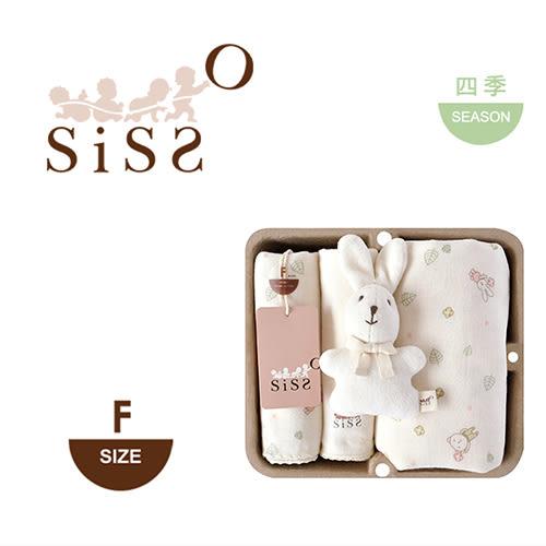 【SISSO有機棉】送你一朵小花紗布萬用巾禮盒 F
