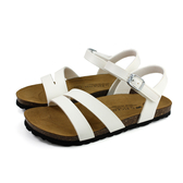 G.P 阿亮代言 涼鞋 勃肯鞋型 女鞋 白色 W713-80 no384