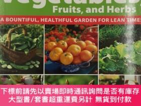 二手書博民逛書店Homegrown罕見Vegetables, Fruits, and Herbs: A Bountiful, He