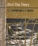 二手書R2YBb《Basic Ship Theory》59年-Rawson.Tu