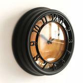 8英寸掛表阿拉伯數字時尚掛鐘創意復古歐式時鐘客廳臥室牆鐘全館免運!