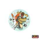 【收藏天地】台灣紀念品*神奇的陶瓷吸水杯墊-柯基臘腸犬∕馬克杯 送禮 文創 風景 觀光 禮品
