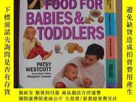 二手書博民逛書店Healthy罕見Food for babies & Toddl