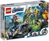 【LEGO樂高】SUPER HEROES AVENGERS 復仇者反重力機車攻擊#76142