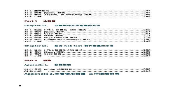 HTML5 / CSS3 / jQuery互動網頁設計誌