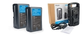 【聖影數位】Kingma BP-2CH+BP-150WS USB 雙電KIT套裝組 快速充電同時雙充 V型電池可USB供電【公司貨】